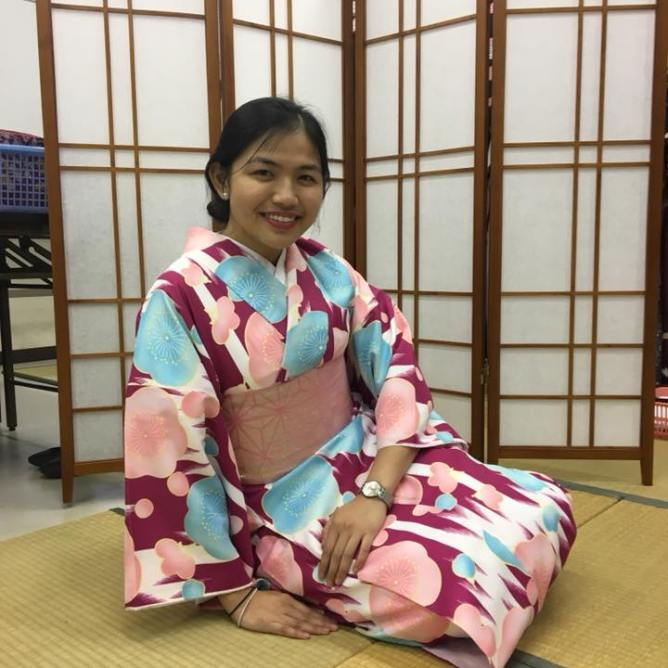 Yukata wearing.